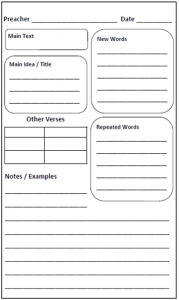 Sermon notes anchored resources preschoolearly elementary sermon notes pronofoot35fo Image collections